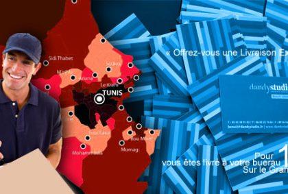 Cartes De Visite Imprimees En 1H Et Avec Leur Livraison Sur Le Grand Tunis